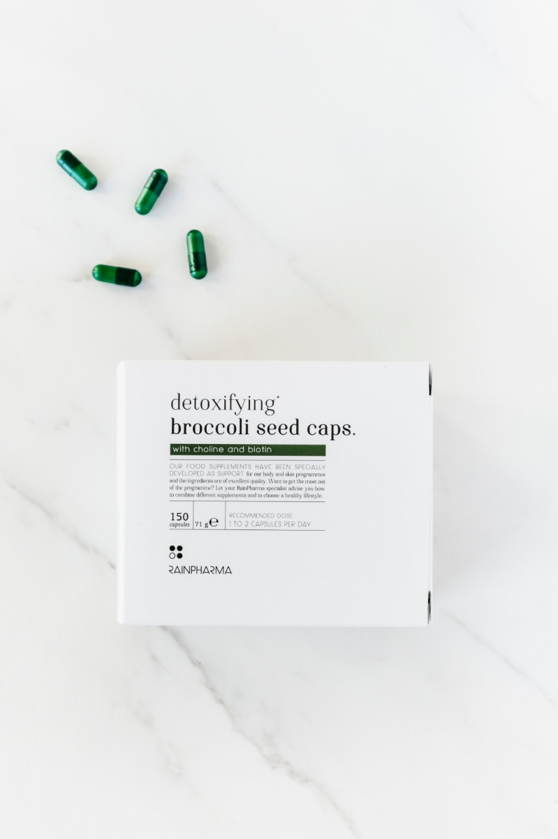Detoxifiying Broccolie Seed Caps
